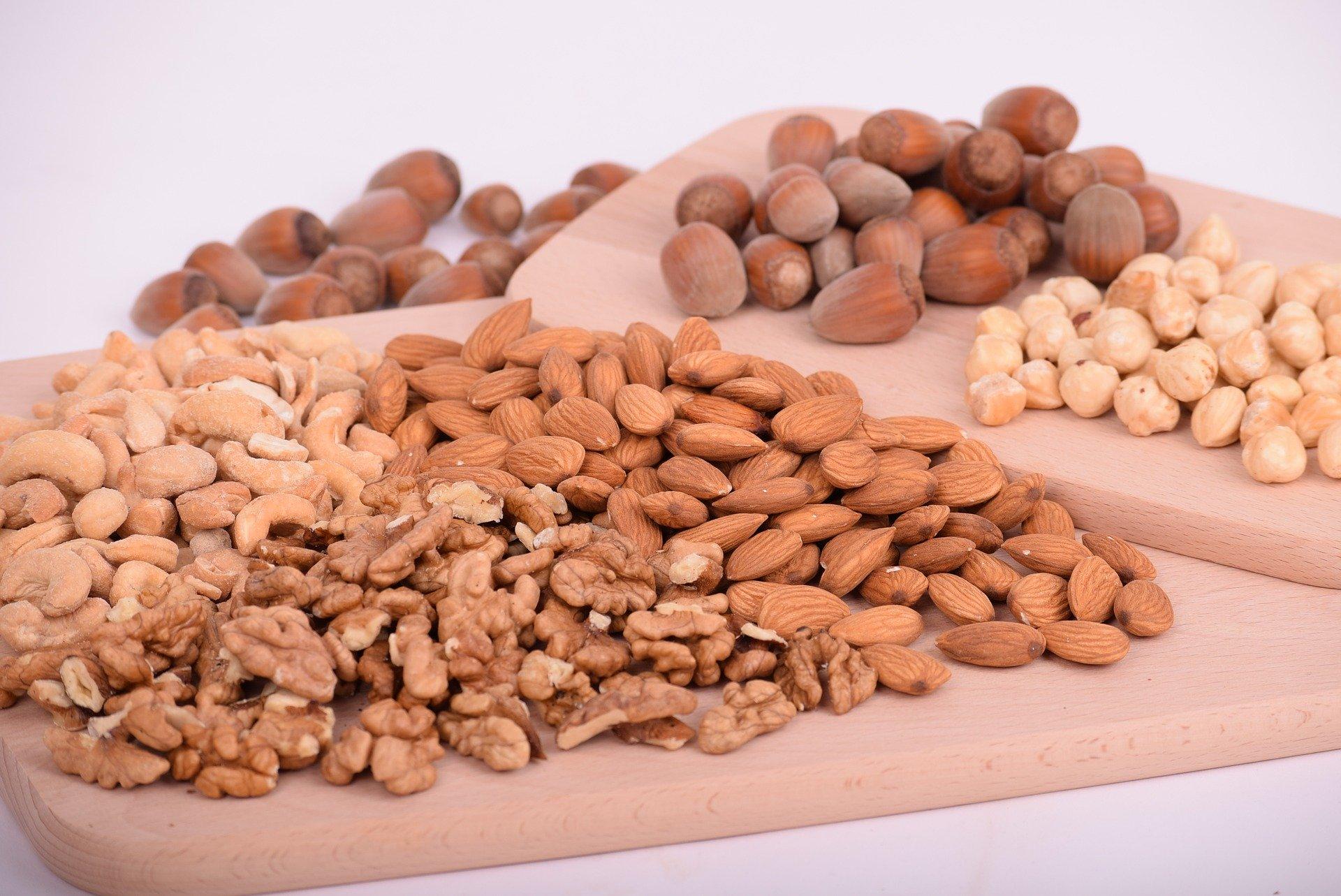 ORZECHY-Rodzaje i porównanie wartości odżywczych