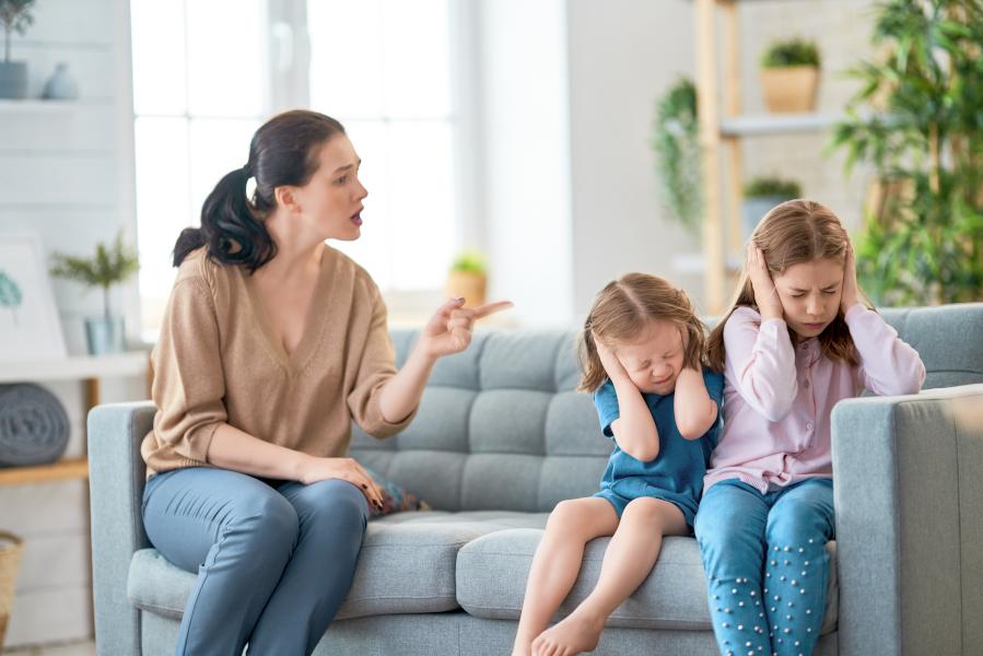 Nie przelewaj złości na dziecko