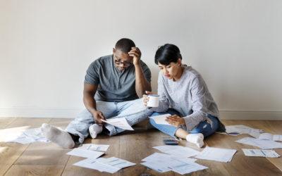 Niepewna sytuacja finansowa powodem stresu