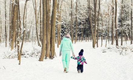 Czy wychodzić z dzieckiem, gdy jest mróz?