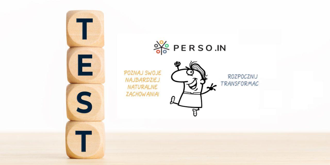 Test osobowości PERSO.IN – Model Wielkiej Piątki