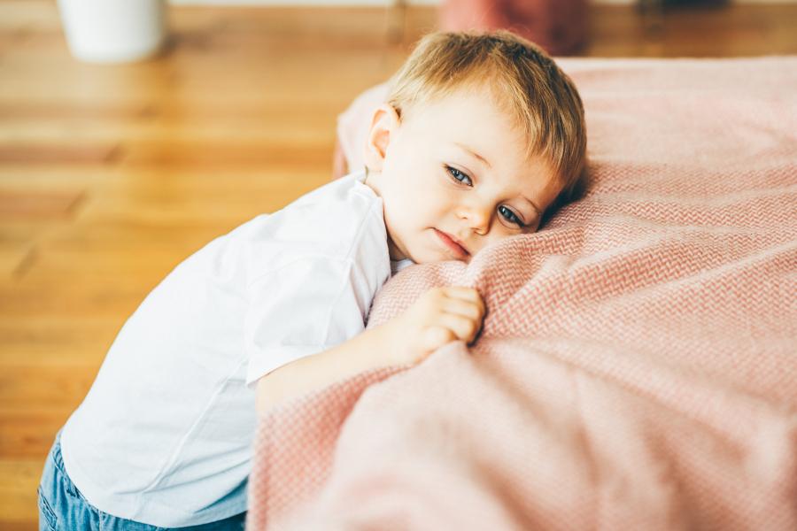 Zmęczone dziecko