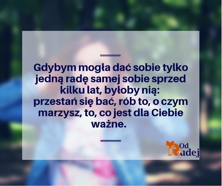 Cytat - sentencja Aneta Boritzka