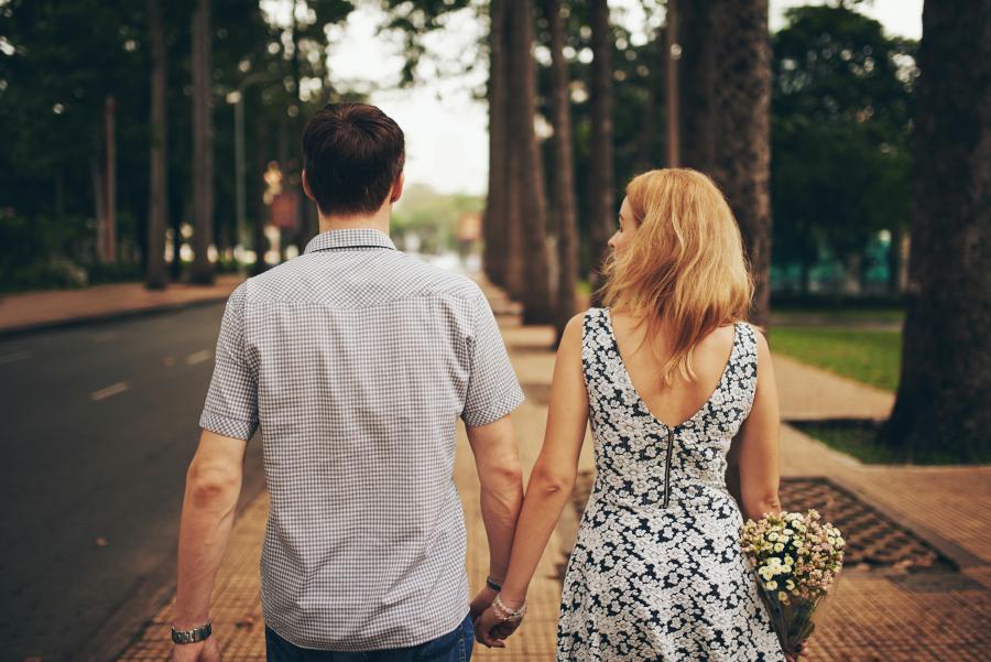 Randkująca para